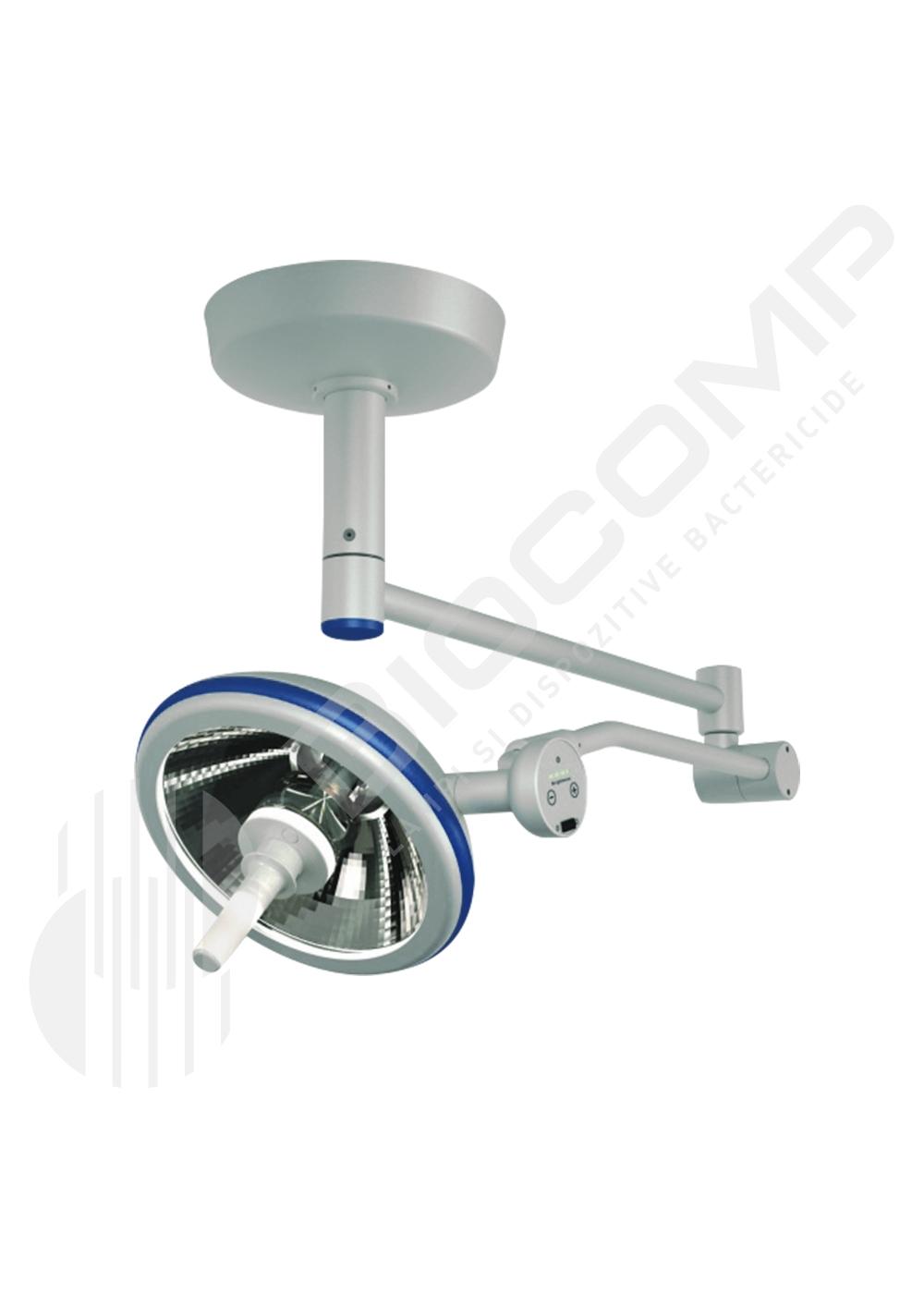 Lampa de examinare - scialitica cu LED – OSRAM foarte performant - montare pe tavan - inaltime camera  3,30m/ 3,0m/  2,70m si 2,50m
