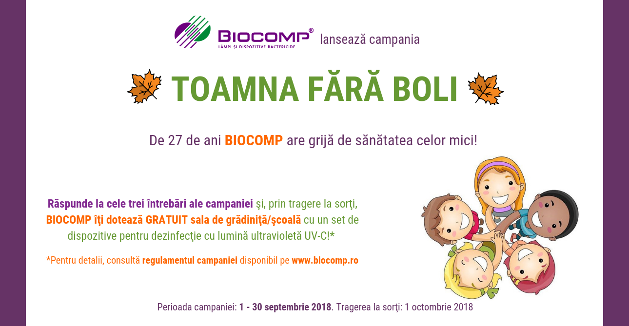 Cover event Toamna fara Boli, Educational