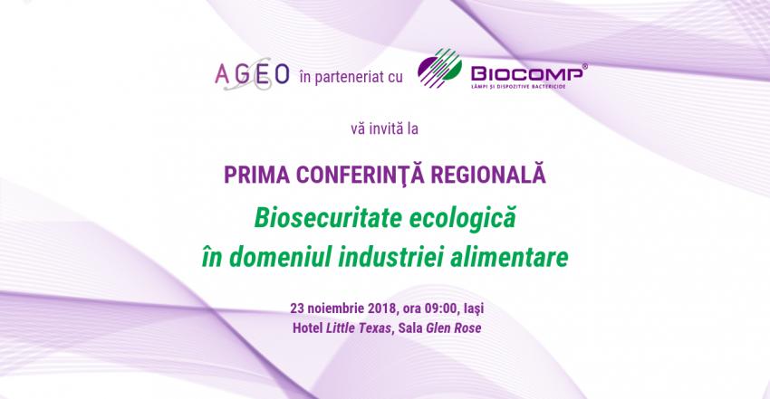 Conferinta Regională Biosecuritate