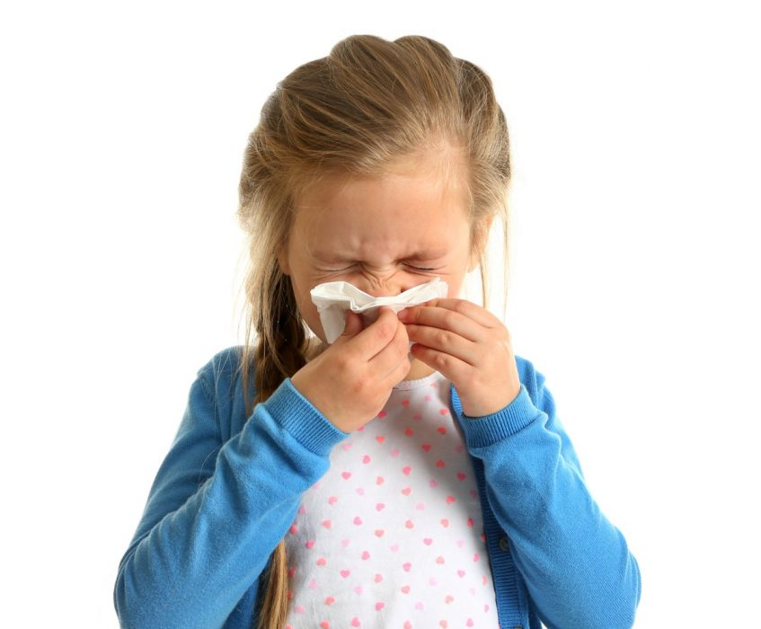 Raceala si gripa la copiii de gradinita