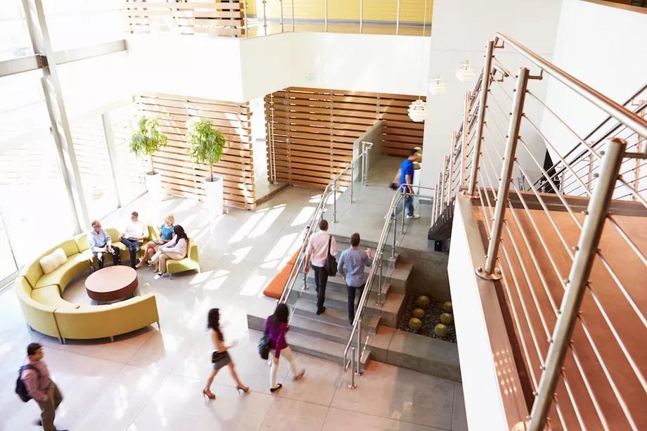 Dezinfectia aerului in cladirile de birouri si in spatiile comerciale