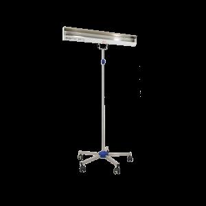 Lampa-dispozitiv de dezinfecție cu lumina ultravioleta UV-C LBA 30W, cu montare pe stativ mobil