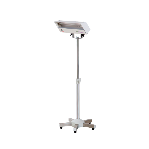 Lampa-dispozitiv de dezinfecție cu lumina ultravioleta UV-C LBA 8W, cu montare pe ministativ