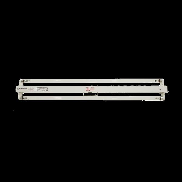Lampa-dispozitiv de dezinfecție cu lumina ultravioleta UV-C LBA-E 2x30W, cu montare pe perete