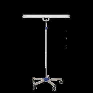 Lampa-dispozitiv de dezinfecție cu lumina ultravioleta UV-C LBA-E 55W, cu montare pe stativ mobil