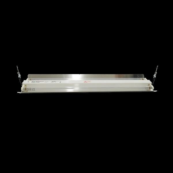 Lampa-dispozitiv de dezinfecție cu lumina ultravioleta UV-C LBA-ER 2x55W, cu montare pe tavan