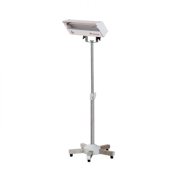 Lampa-dispozitiv de dezinfecție cu lumina ultravioleta UV-C LBA 15W, cu montare pe ministativ