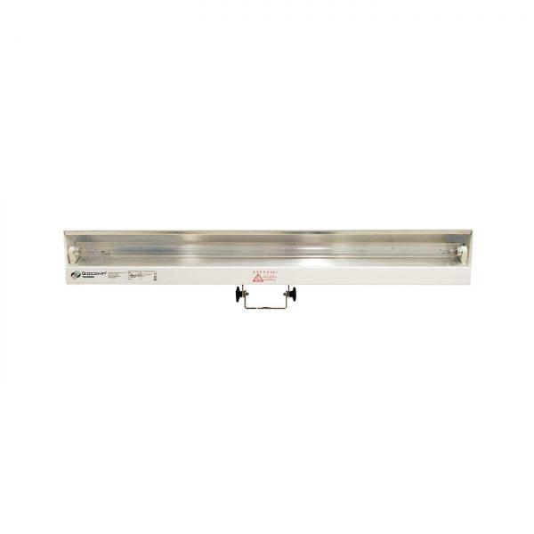 Lampa-dispozitiv de dezinfecție cu lumina ultravioleta UV-C LBA 15W, cu montare pe perete