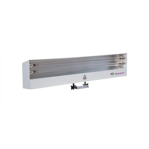 Lampa-dispozitiv de dezinfecție cu lumina ultravioleta UV-C LBA 2x30W, cu montare pe perete