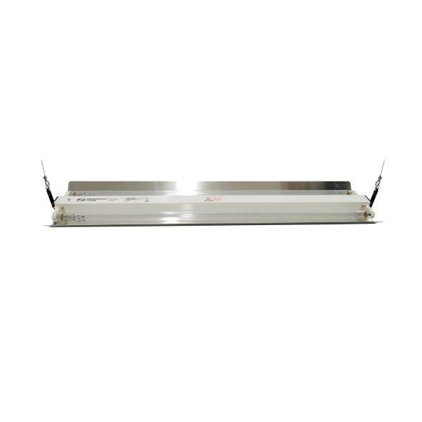 Lampa-dispozitiv de dezinfecție cu lumina ultravioleta UV-C LBA-ER 2x30W, cu montare pe tavan