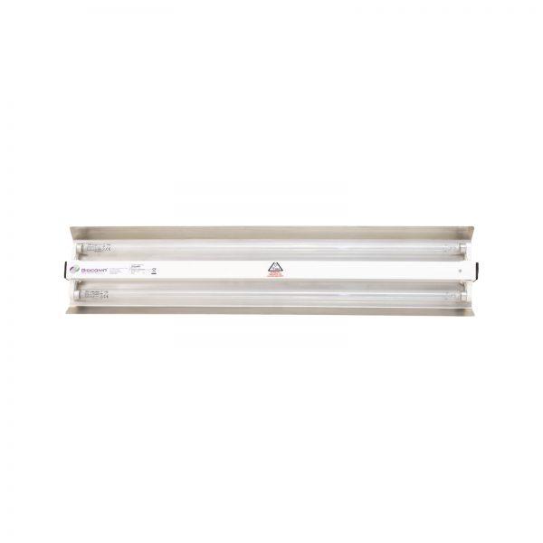 Lampa-dispozitiv de dezinfecție cu lumina ultravioleta UV-C LBA-ER 2x55W, cu montare pe perete