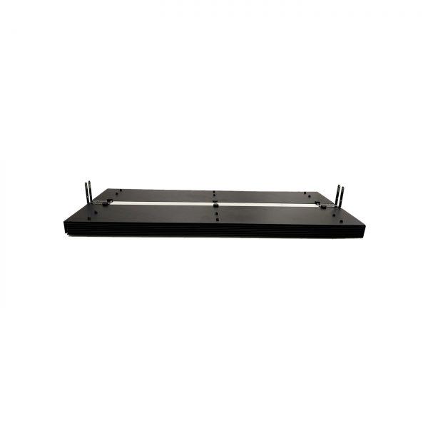 Lampa-dispozitiv de dezinfectie cu lumina ultravioleta UV-C LBAG-E TWIN 2x55W, cu grile
