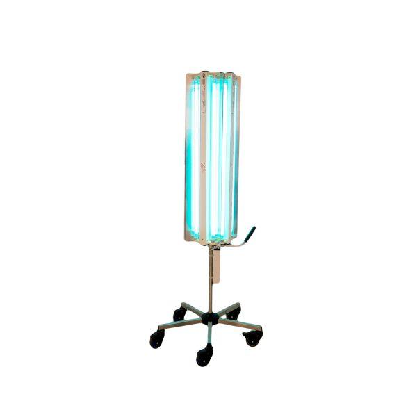 Lampa-dispozitiv de dezinfecție cu lumina ultravioleta UV-C MAXI 360 440W, cu montare pe stativ mobil