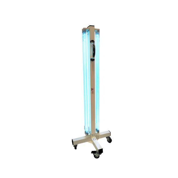 Lampa-dispozitiv de dezinfecție cu lumina ultravioleta UV-C MINI 360 4x55W, cu montare pe cadru mobil