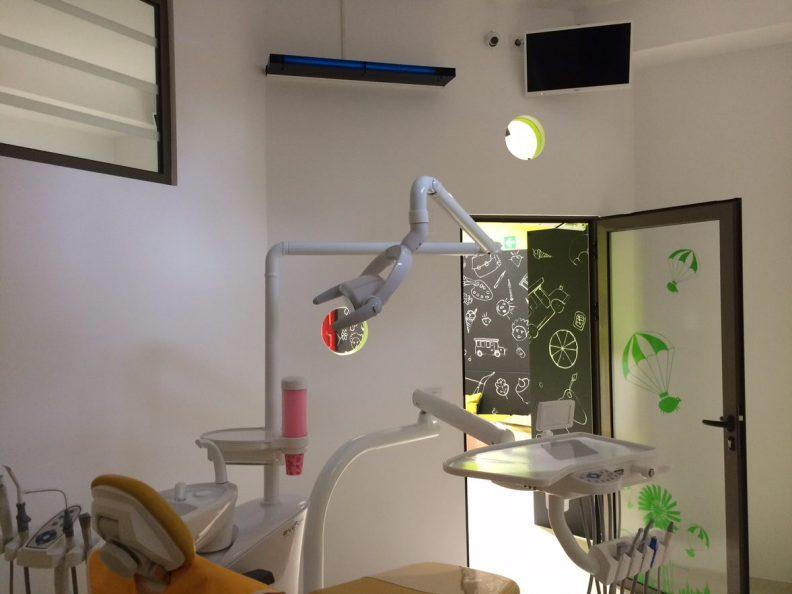 Dezinfectie cabinet stomatologic
